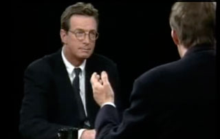 Michael Crichton on The Charlie Rose Show