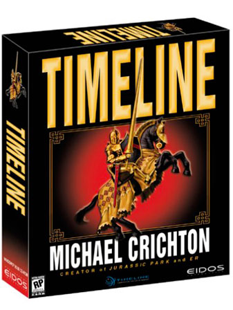Timeline Computer Game by Michael Crichton