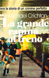 The Great Train Robbery Book Cover - Italy