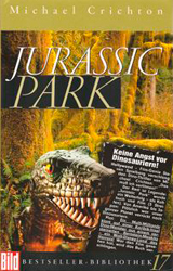 Jurassic Park Book Cover - Germany