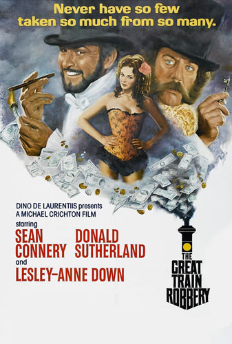The Great Train Robbery directed by Michael Crichton