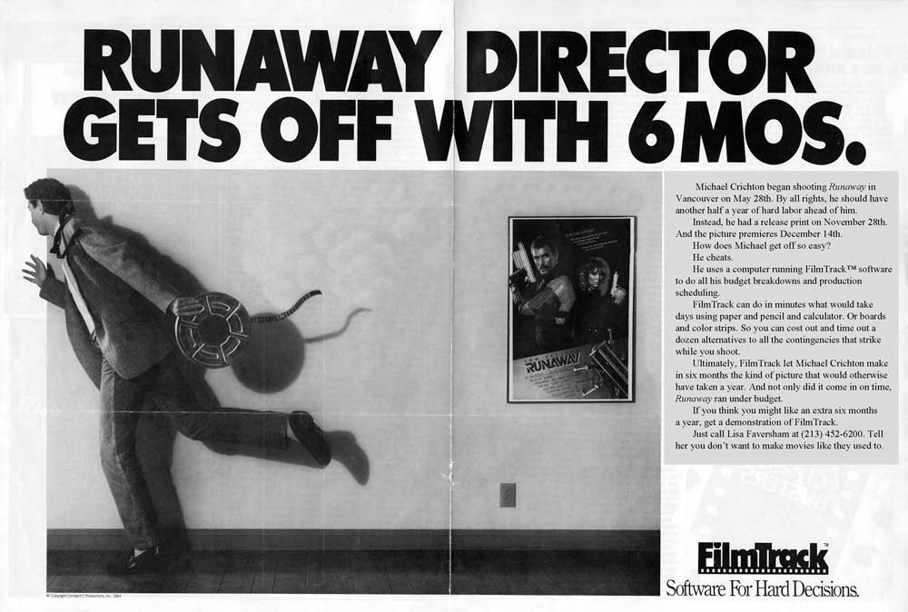 Filmtrack Software Ad